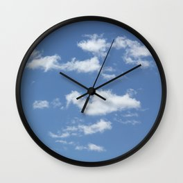 Clouds on a Sunny Day Wall Clock
