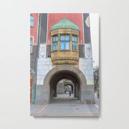 Subotica city hall detail #1 Metal Print
