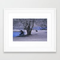 fishing Framed Art Prints featuring Fishing by Anthony M. Davis