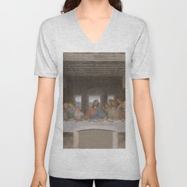"Leonardo da Vinci ""The Last Supper"" Unisex V-Neck"