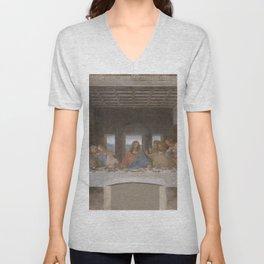 "Leonardo da Vinci ""The Last Supper"" Unisex V-Neck"