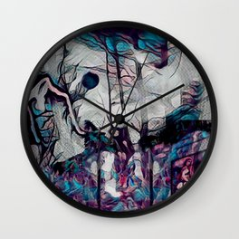 Within This Strange And Frightening World Wall Clock