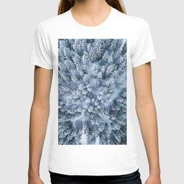 Winter Pine Forest T-shirt