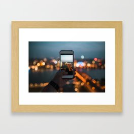 Picture of a picture - Cologne, Germany Framed Art Print