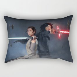 Back to Back Rectangular Pillow