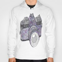 camera Hoodies featuring camera by Dal Sohal