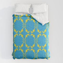 Seahorse Craze Comforters