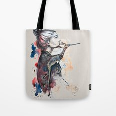 seehorse by carographic Tote Bag