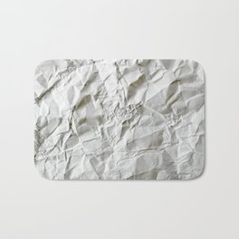 Crinkled Blues Bath Mat