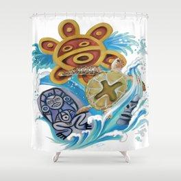 Taino/Arawak Shower Curtain