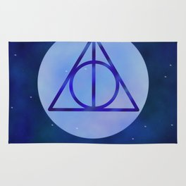 Deathly hollows Rug