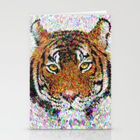 tiger Stationery Cards featuring Tiger by David Zydd