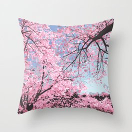 High Park Bloom Throw Pillow