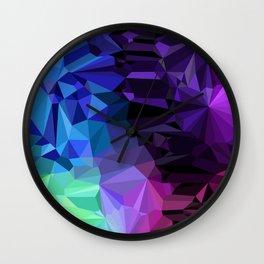Crazy Crystals Wall Clock