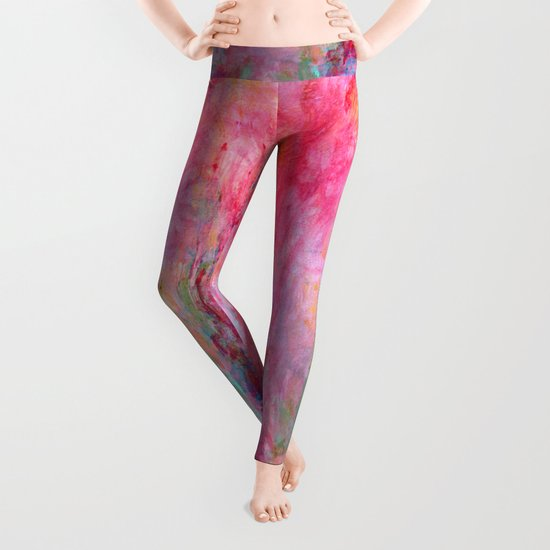 Wild Roses Leggings