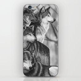 Wolf Pack iPhone Skin