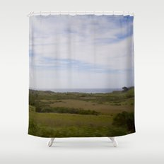 Wide Open Spaces Shower Curtain
