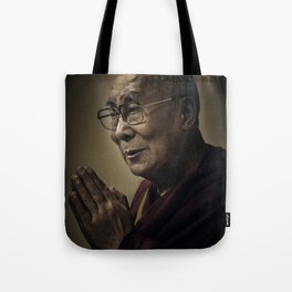 His Holiness The Dalai Lama Tote Bag