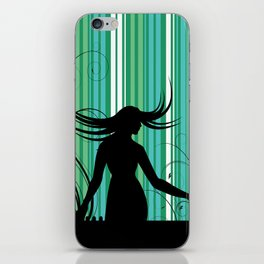 Dropping The Music Beats iPhone Skin