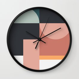 Abstract Geometric 07 Wall Clock