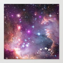 Stella Creo - Small Magellanic Cloud Canvas Print