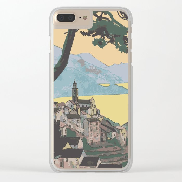 My Nature Collection No. 65 Clear iPhone Case