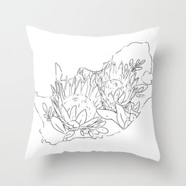 Suid Afrika Proteas Throw Pillow
