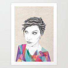 Beauté rageuse Art Print