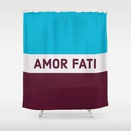 AMOR FATI - STOIC WISDOM Shower Curtain