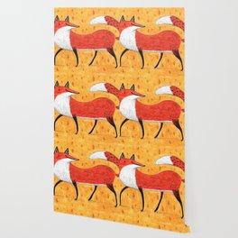 Sassy Little Fox Wallpaper