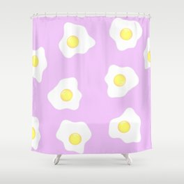 Pink eggs Shower Curtain