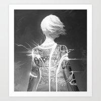 Lady 3 Art Print