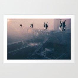 Vision in Chongqing... Art Print