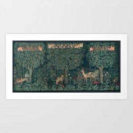 William Morris Greenery Tapestry Art Print