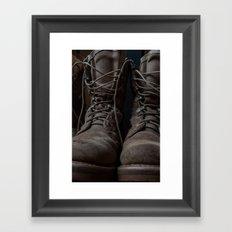 Military Mark Framed Art Print