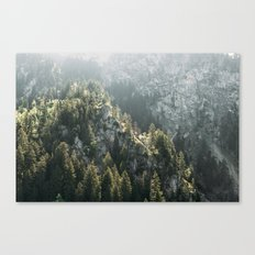 Mountain Lights - Landscape Photography Canvas Print