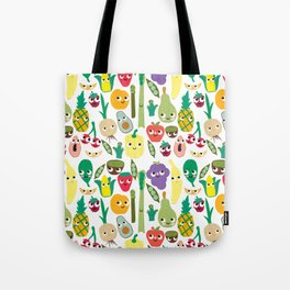 Fruit And Veggie Madness Tote Bag