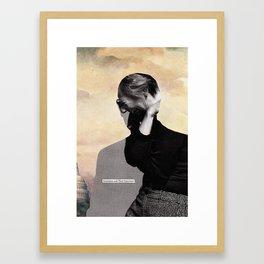 LBJ Framed Art Print