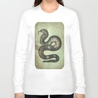 snake Long Sleeve T-shirts featuring Snake by LoRo  Art & Pictures