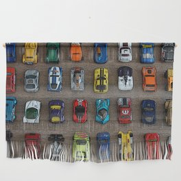 1980's Toy Cars Wall Hanging
