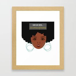 Crown of Queens Framed Art Print
