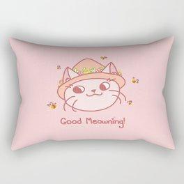 Spring Kitty Rectangular Pillow