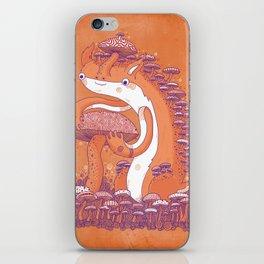 The Mushroom collector iPhone Skin