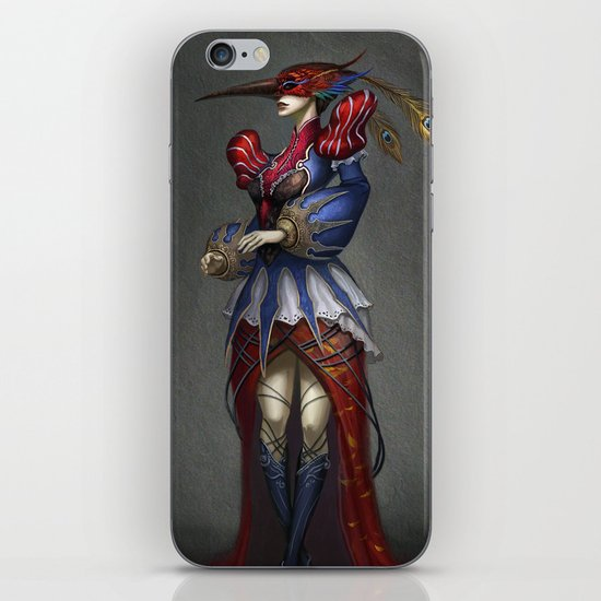 The Courtier iPhone & iPod Skin