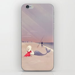 Keep Fishing iPhone Skin