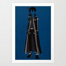 Kirito Art Print