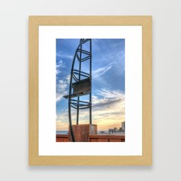Steel sail Framed Art Print