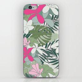 Exotic flowers iPhone Skin