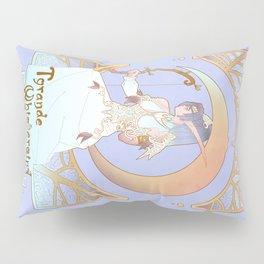 Art Nouveau Moon Goddess Pillow Sham