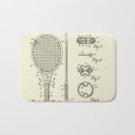 Tennis Racket-1948 Bath Mat